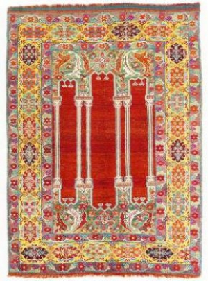 Identifying rugs by their colour and design