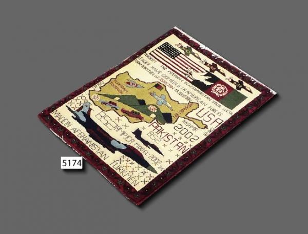 Afghan war rug 5174