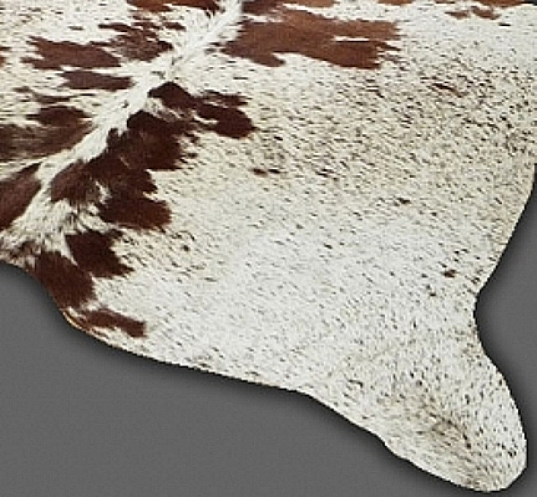 Cowhide, Brown & White speckled 8306