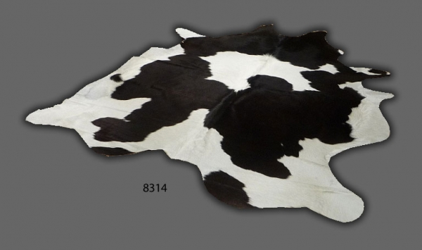 Cowhide, Black & White Assorted 8314