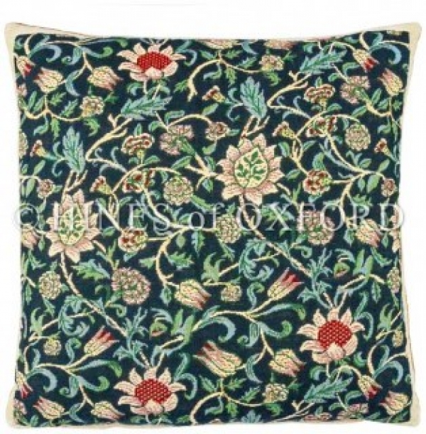 Morris Evenlode - Blue Tapestry Cushion (2 available) 8568