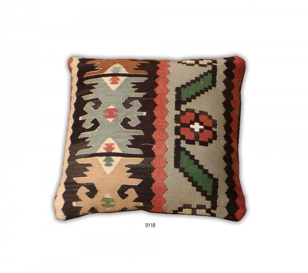 Anatolian Kilim Cushion 9118