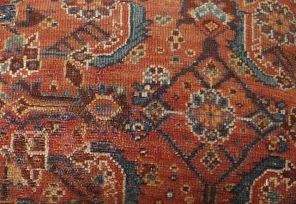 Antique Persian Cushion 9130