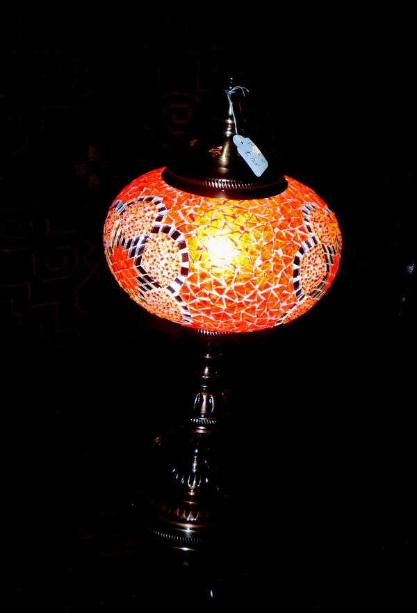 Istanbul mosaic desk lamp 9082