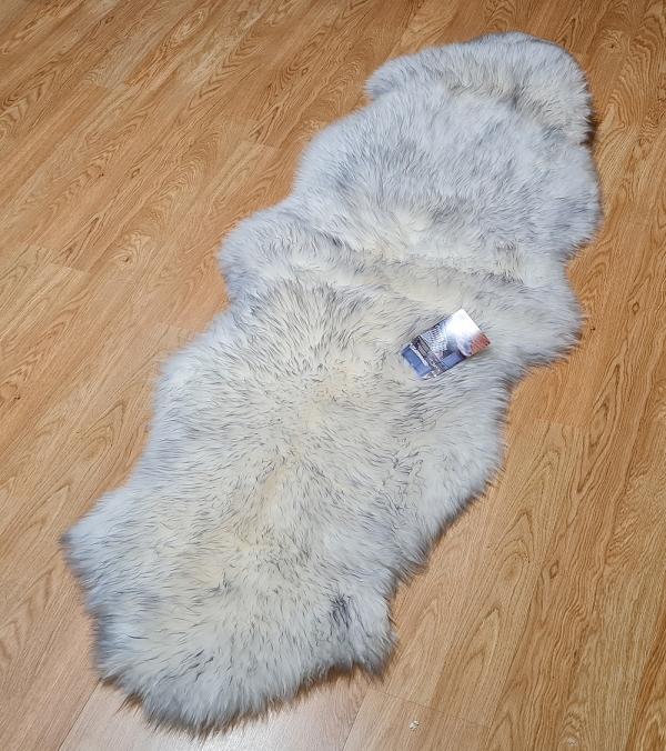Double Sheepskin Ivory 9804