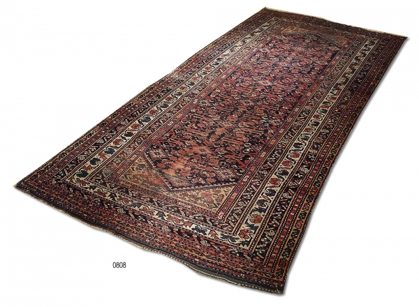 Kurdish wide Runner (Antique) 0808
