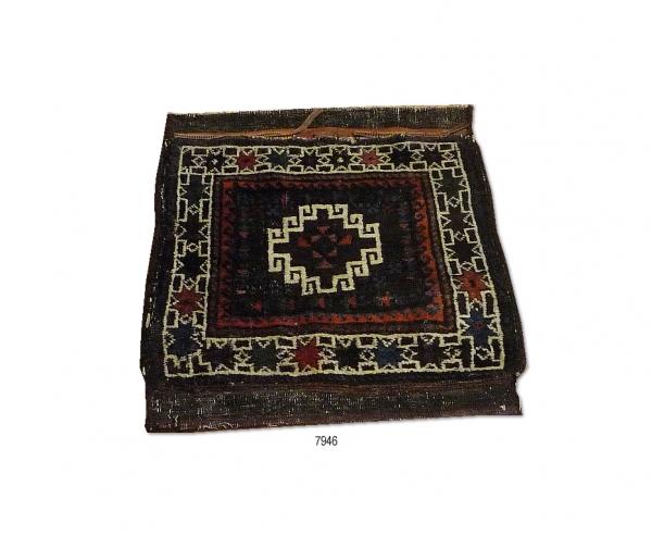 Taimuri bag-face (antique) 7946