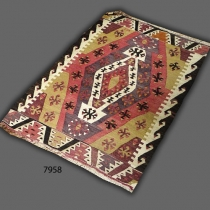 Anatolian kilim (antique) 7958