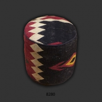Kilim Footstool - Pouf 8280 *SOLD*
