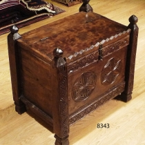 Carved Chest 8343