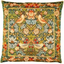 Strawberry Thief Tapestry Cushion 8558