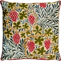 Vines - White Tapestry Cushion (2 available) 8564