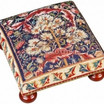 Acanthus Tapestry footstool 8585