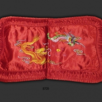 Chinese Silk Embroidered Pillow Case 8709