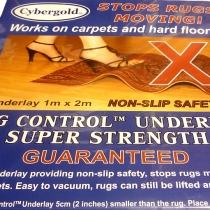 Rug Control Underlay, Pre-Packed 0101 available 20