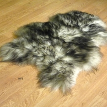 sheepskin Icelandic Ivory & Black 8976 SOLD