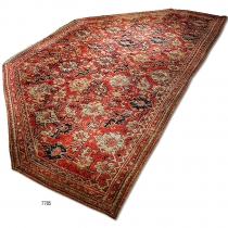 Ushak alcove Carpet (Antique) 7785