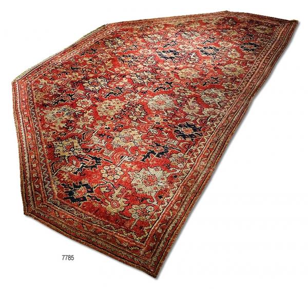 Ushak alcove Carpet (Antique) 7785